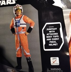 Kids Star wars X-wing Fighter pilot halloween